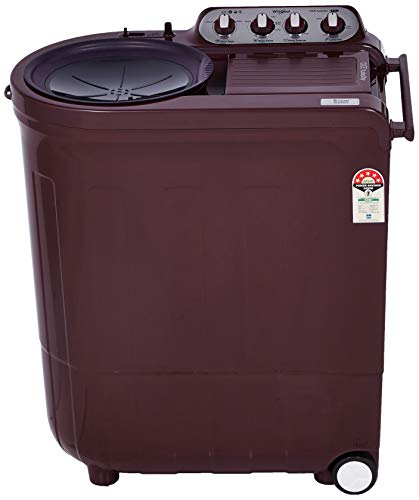 Whirlpool 7.5 Kg 5 Star Semi-Automatic Top Loading Washing Machine (ACE 7.5 TURBO DRY, Wine Dazzle)