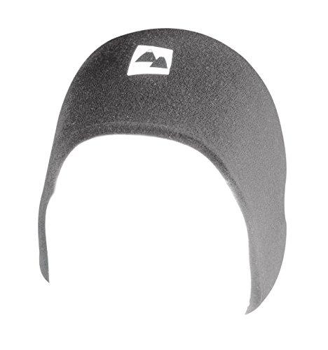 Merino Wolle Stirnband Warme Thermal Band - 100{601c96fc2a00d04e4d6d1c1aa087d0162068f429720d7f1194c8e152d04f24b5} Merino für Extra Wärme & Komfort. Atmungsaktiv & Windbeständig. Winter & Sommer für Laufen Joggen Fitness etc. Reflektierendes Logo. (Grau, Groß)