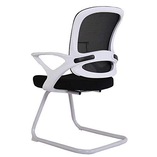 Barhocker Xiuyun - Silla de ordenador con respaldo arco, silla de alta densidad, tejido de espuma de alta calidad, ligera deformación, estructura corporal, herramientas necesarias Radian