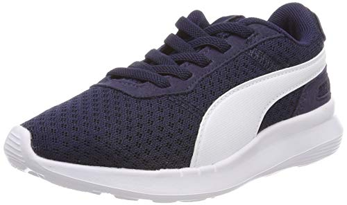 Puma Unisex-Kinder ST Activate AC PS Sneaker, Blau (Peacoat-Puma White 03), 32 EU