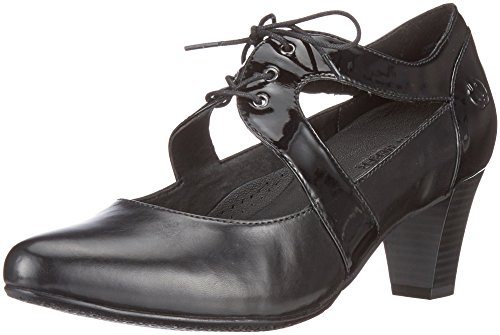 Gerry Weber Shoes Damen Lena 16 Pumps, Schwarz (Schwarz), 38 EU