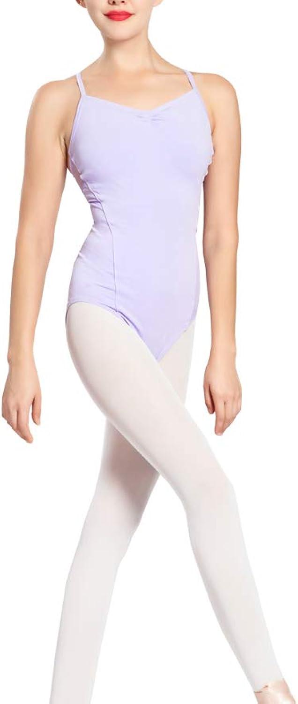 Limiles Women Lace Back Camisole Leotard Ballet Dance