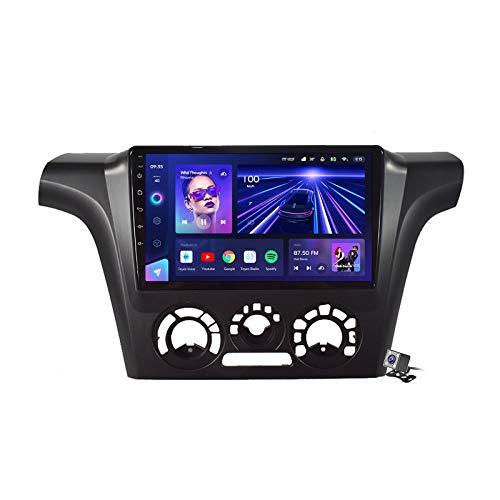 Gokiu Android 10 Car Radio de Navegación GPS para Mitsubishi Outlander 1 2002-2008 con 9 Pulgada Pantalla Táctil Support FM Am RDS DSP/MP5 Player/BT Steering Wheel Control/Carplay,7862: 4+64