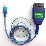 OTKEFDI KKL 409.1 OBD USB Interfaz,Herramienta de diagnóstico KKL 409.1 OBD2 - Escáner KKL OBDII Cable OBD KKL 409.1