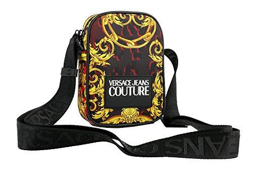 Versace Jeans Couture herren logo baroque Umhängetasche rosso