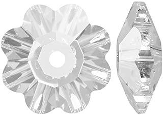 SWAROVSKI ELEMENTS Crystal Margarita Beads #3700 6mm Crystal (12)