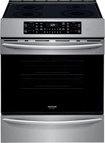Frigidaire FGIH3047VF Gallery Series 30 Inch Stainless Steel Induction Electric Convection Freestanding product image
