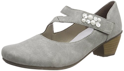 Rieker Damen 41784 Pumps, Grau (Cement), 38 EU