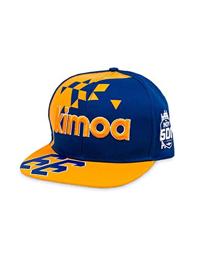 Kimoa - Plana Gorra de béisbol, Azul, Estándar Unisex Adulto