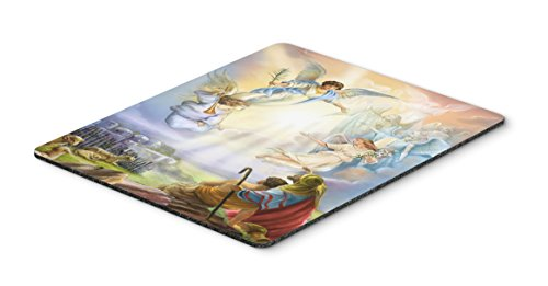 Caroline's Treasures APH5469MP The Shepherds and Angels Appearing Mouse Pad, Hot Pad or Trivet, Large, Multicolor
