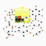 BoldGare (TM) Kit Mini Qu¨ªmica Org¨¢nica Modelo molecular peque?o tubo para estudiantes 143pcs / set modelos moleculares port¨¢tiles peque?o tubo env¨ªo libre