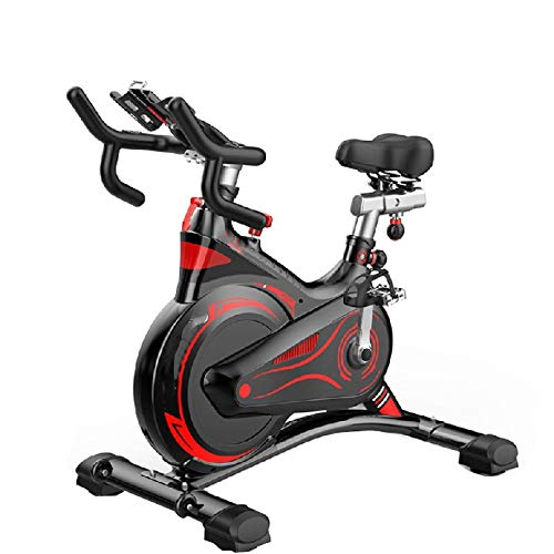 Bicicleta EstáTica Giratoria, Equipo De Ciclismo para El Hogar, Deportes De Fitness, Bicicleta Silenciosa Inteligente, para Culturismo En Interiores