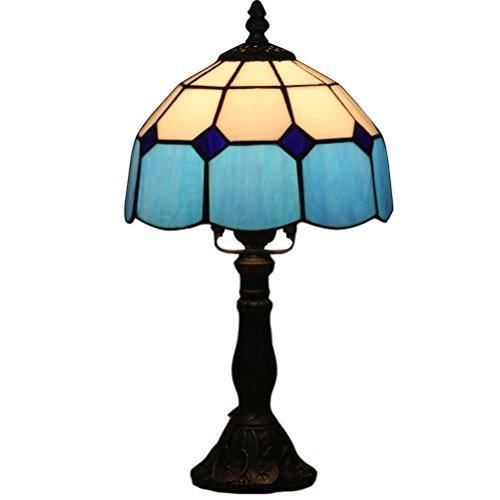 FABAKIRA Pastorale antike Luxus Tiffany Tischleuchte Glas Schlafzimmer Licht
