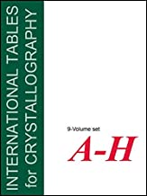 International Tables for Crystallography: 9 Volume Set