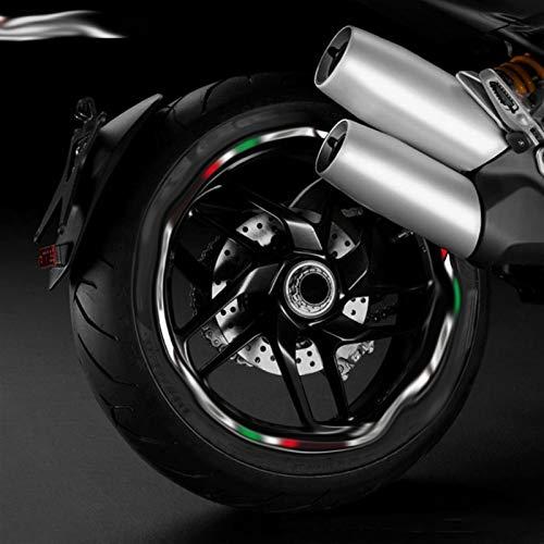 Motocicleta Accesorios Ajuste para Ducati 796/696/795/821/848/899/899/1200/199/899/1200/1199/1299 Etiqueta engomada Reflectante a Prueba de...