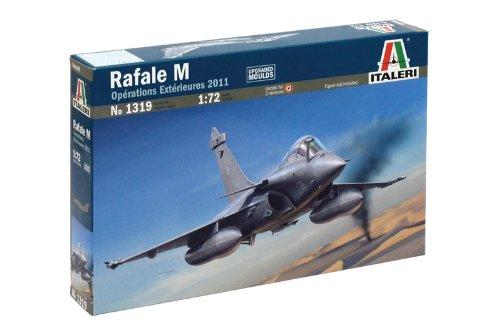 Italeri 1319 - Rafale M Opérations Extérieures 2011- Model Kit Scala 1:72