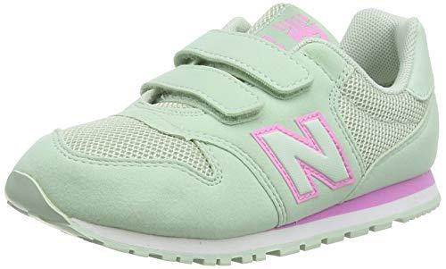 New Balance Mädchen 500 Sneaker, Blau (Mint Combo), 38.5 EU