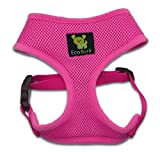 𝐌𝐄𝐃𝐈𝐔𝐌 𝐃𝐎𝐆 𝐇𝐀𝐑𝐍𝐄𝐒𝐒: EcoBark Pet Harness in Red. PLEASE MEASURE: Refer to our sizing chart to find the best fitting harness BEFORE ordering. Our sizing works best for your pet's breed size. RECOMMENDED BREEDS: Dog Breeds such as: Dachshund, French Bul...