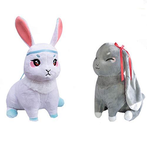 魔道祖師 ぬいぐるみ おもちゃ 陳情令 キャラクター 魏無羨 藍忘機 ウサギ ふわふわ 可愛い 飾り物 萌えグッズ セット 学园祭 文化祭 プレゼント