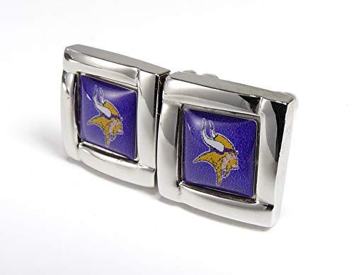 NFL Minnesota Vikings Square Cuff Links