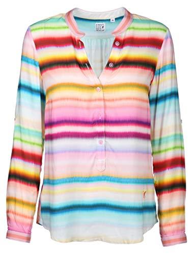 Emily van den Bergh Damen Bluse in bunten Farben Größe 36 EU Mehrfarbig (bunt)