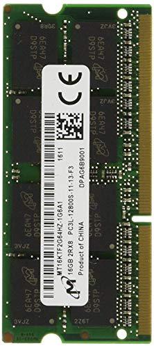 Lenovo 16GB PC3L-12800 módulo de - Memoria (16 GB, 1 x 16 GB, DDR3L, 1600 MHz, 204-pin SO-DIMM)