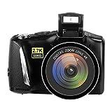 Digital Camera Vlogging Camera for YouTube, 48MP 2.7K UHD 3.0 Inch Camera with Retractable Flashlight