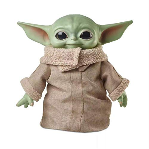 WJRAY Yoda Baby Spielzeug Hot Anime Baby Yoda Star Wars Figur Action Spielzeug Yoda Master Figuras Puppe Action Figuren Rinquedo Keine Einzelhandelsbox