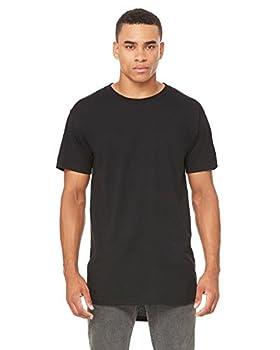 Bella Canvas Mens Long Body Urban T-Shirt  3006  Black XL