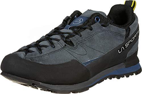LA SPORTIVA Boulder X, Zapatillas de montaña Hombre, Carbon/Opal, 43.5 EU