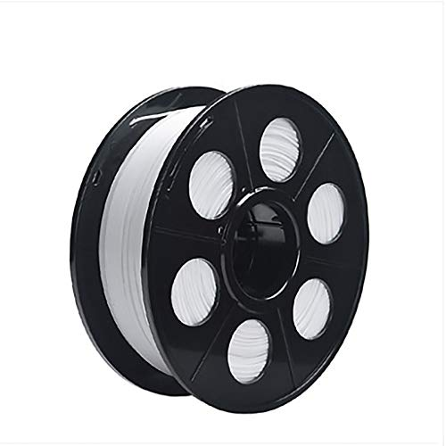 PLA 3D Printer Filament PLA Filament 1kg Spool Has High Strength And Better Toughness, Which Is Used As 3D Printing Material For 3D Printer, With Dimensional Accuracy Of + / - 0.02mm(Color:white)