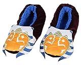 Star Wars Slippers Clone Wars Ahsoka Tano Slipper Socks with No-Slip Sole For Women Men (X-Large)