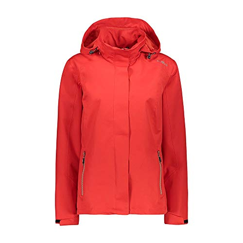 CMP Giacca Outdoor Clima Protect, Donna, Cherry, 42