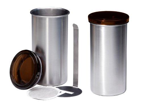 chg 9826-60 Kaffeepaddose 2 Stück Höhe: 16.5 cm Durchmesser: 8,5 cm