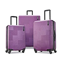 professional Expandable rigid carrier with American Tourister Stratum XLT swivel wheel, power plum, …