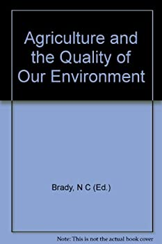Hardcover Agriculture and the Quality of Our Environment Book
