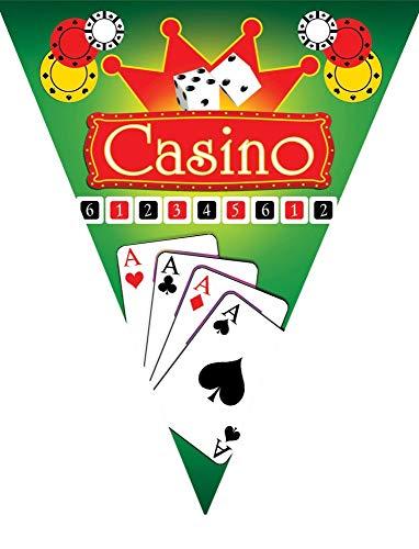 Baraldi Cotillons BANDIERINE Casino in PVC MT. 5