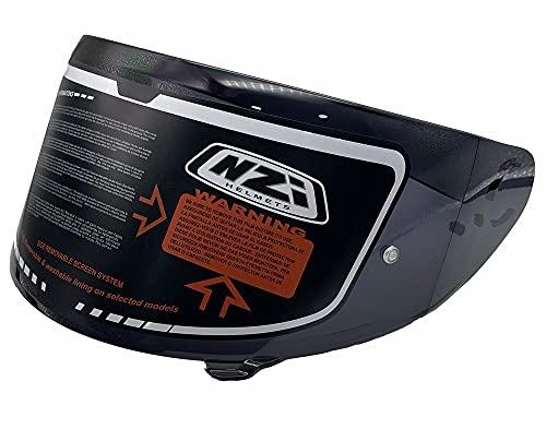 NZI - Casco Integral para Moto NZI Trendy (Recambios, Pantalla Ahumada)
