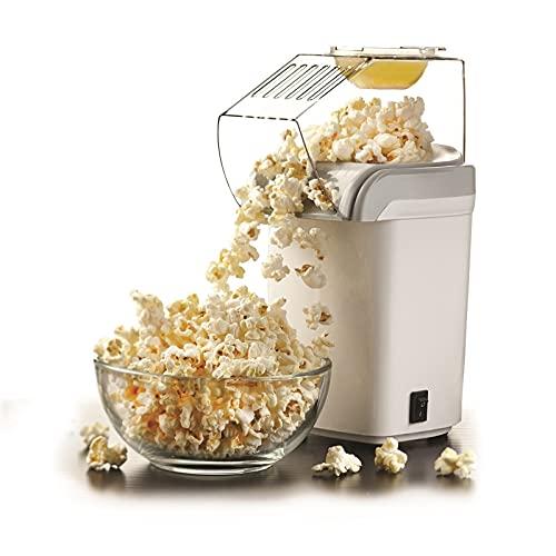 N\C XIKUO Weiss Die Machen Popcorn-Maschine für eine alte Zeit Maschinen Bester Hersteller Vintage Nostalgie Retro Altmodisches Theater Film Zeit Funtime Kino Heißluft Elite Nostalgie der