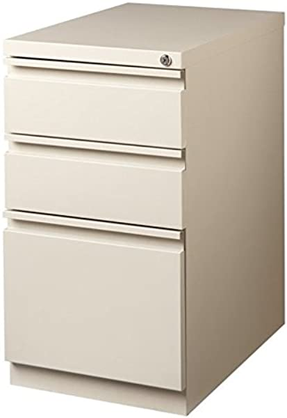 20 In Mobile Pedestal 3 Drawer Box Putty