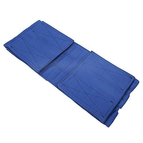 Correa Azul para piernas de Silla de Ruedas, cinturón de sujeción para Silla de Ruedas, cinturón de Seguridad Antideslizante para un Ancho de Asiento de 13,8 a 24,4 Pulgadas en el hogar de