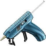 Uymkjv Pistola de Pegamento Caliente con batería de Litio, Pistola de Pegamento Caliente con batería de Litio inalámbrica de 3,6 V (con Barra de Pegamento), 40 Barras de Pegamento