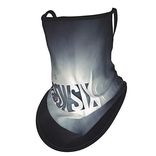 Rainbow-Six-Siege Halsmanschette UV-Sonnenschutzmanschette Sonnenschutz für Männer und Frauen Angeln Wandern Kajak Gesicht Bandanas mit Ohrschlaufen Face Cover Snood Mujeres