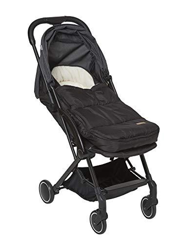 VERTBAUDETBaby Fußsack für Kinderwagen und BabyschaleschwarzONE SIZE
