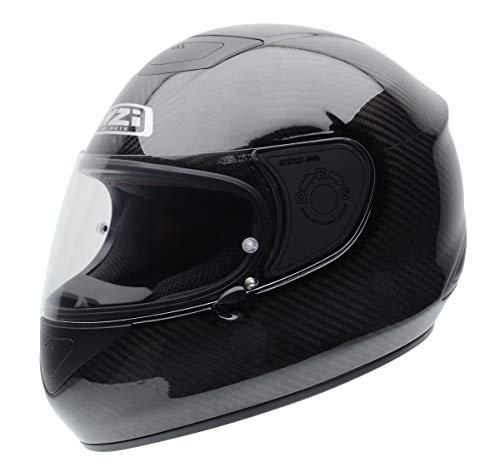 NZI RCV Carbon Motorradhelm, Grau, 55-56 cm