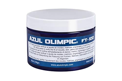 Pâte d'ajustement Bleu Olimpic FT-100, Bleu de Prusse, 1