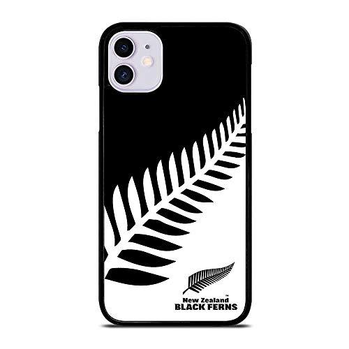 Relabor All Blacks EW EALAND Rugby #1 for iPhone 6 Hülle & iPhone 6S Schutzhülle Schwarzes Weiches TPU Stoßfest Handyhülle Case N-022