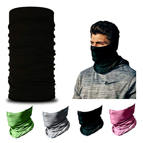 Magic Scarf Balaclava Headwear Head Wrap White Swan Princess Multifunctional Yoga Sports Stretchable Seamless