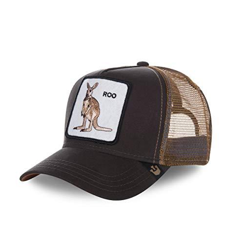Gorra Goorin Roo canguro marrón – Unisex marrón Talla única
