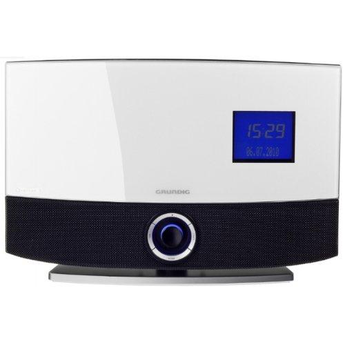 Grundig CDS 8120 ENC Kompaktanlage (CD/MP3-Player, USB 2.0) schwarz/weiß